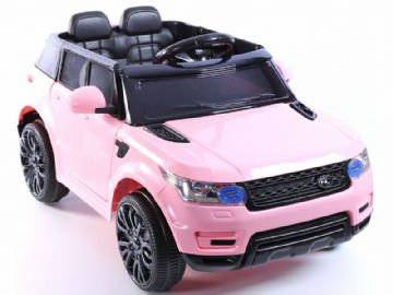 Junior Range Rover HSE Style Ride on Jeep 12v electric with Parental Radio Control Pink